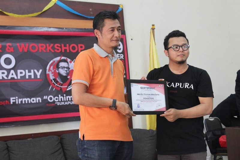 Seminar Photo dan Video Graphy di LP3i